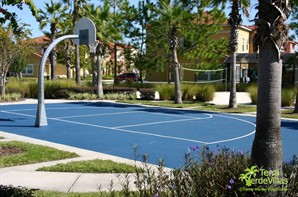 Basketball & Volleyball Court